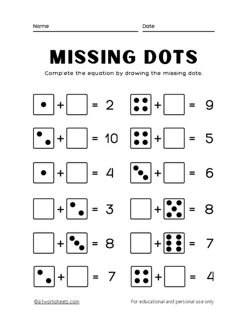 Add the Missing Dots