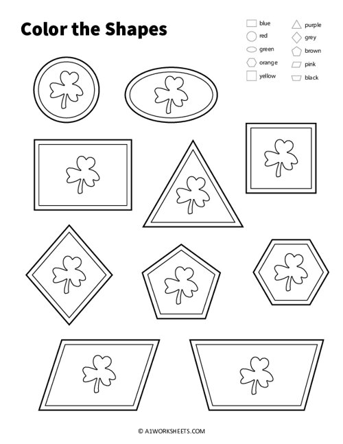 Color the Shapes