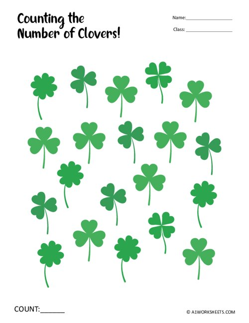 Count the Number of Clovers