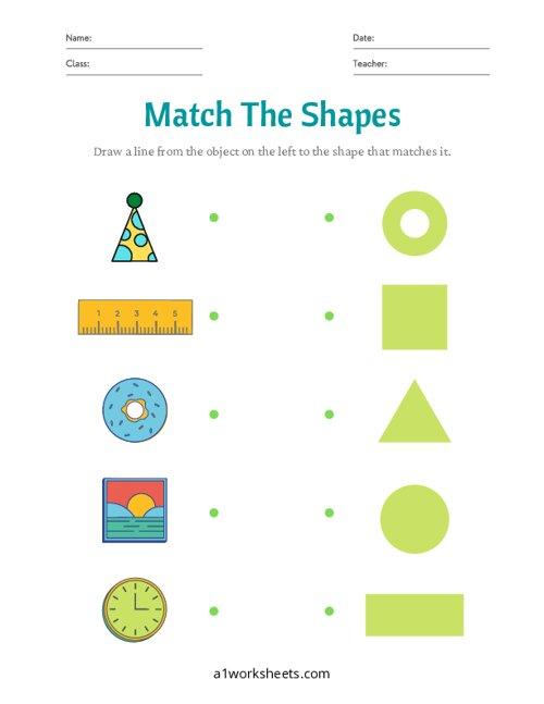 Match the Basic Shapes